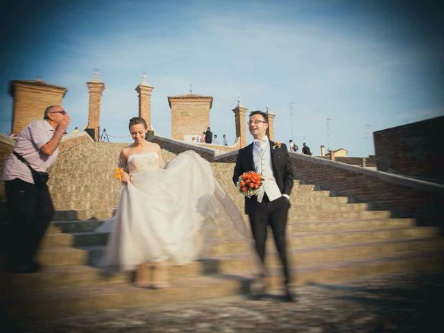 Il matrimonio di Gianluca e Sara a Comacchio, Ferrara 46