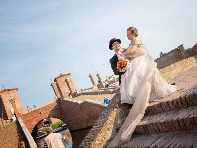 Il matrimonio di Gianluca e Sara a Comacchio, Ferrara 47