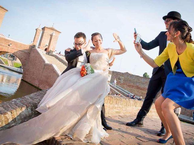 Il matrimonio di Gianluca e Sara a Comacchio, Ferrara 48