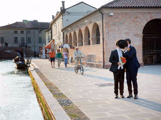 Il matrimonio di Gianluca e Sara a Comacchio, Ferrara 2