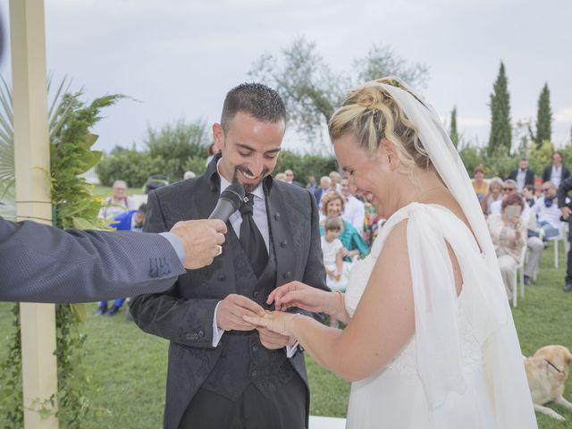 Il matrimonio di Fabio e Gaia a Palaia, Pisa 18