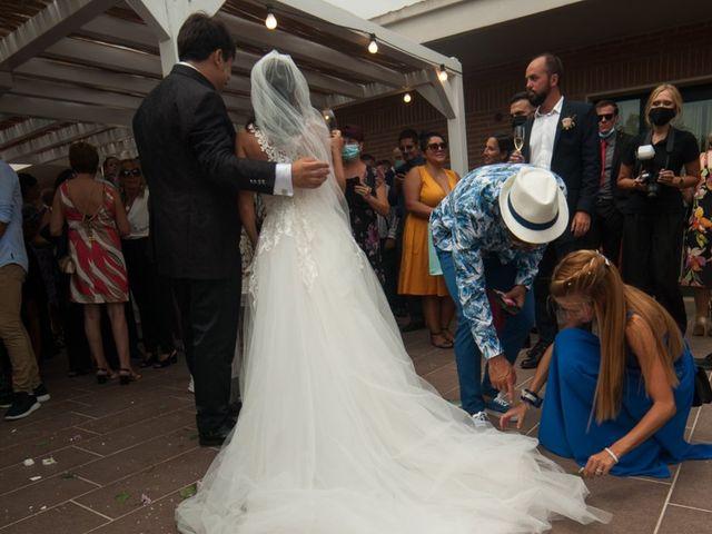 Il matrimonio di Nicola e Valentina a Nuraminis, Cagliari 99