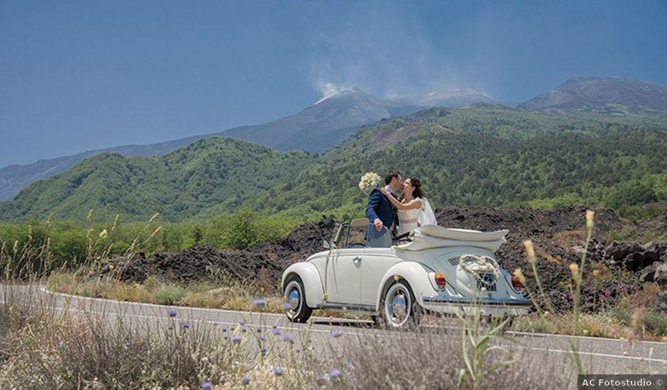 Il matrimonio di Maria Angelica e Simone a Milo, Catania