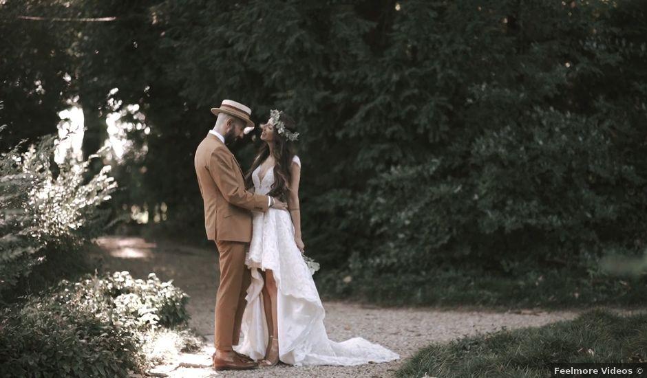 Il matrimonio di Giuseppe e Dominique a Stagno Lombardo, Cremona