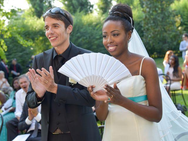 le nozze di Adesuwa e Emanuele