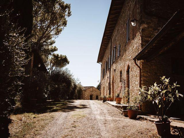 Il matrimonio di Davide e Mari a Casole d'Elsa, Siena 3