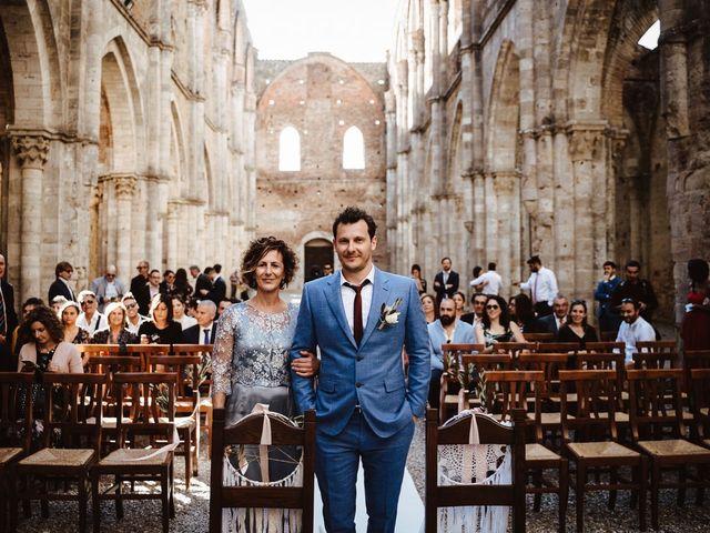 Il matrimonio di Davide e Mari a Casole d'Elsa, Siena 17