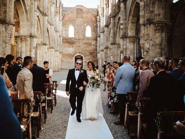 Il matrimonio di Davide e Mari a Casole d'Elsa, Siena 21