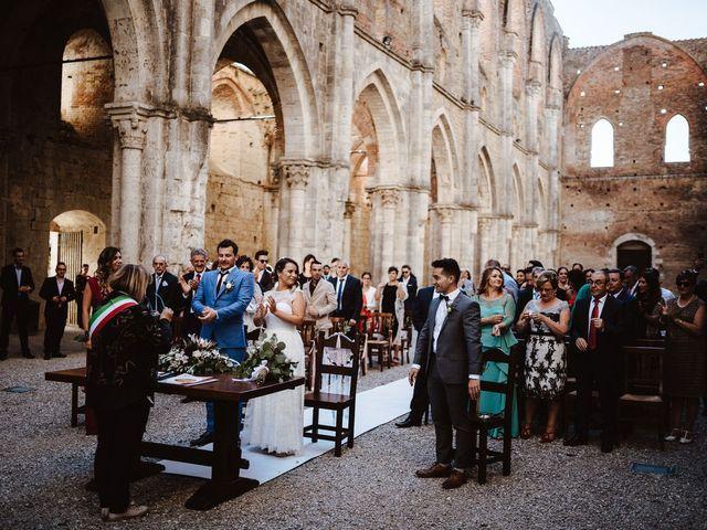 Il matrimonio di Davide e Mari a Casole d'Elsa, Siena 22