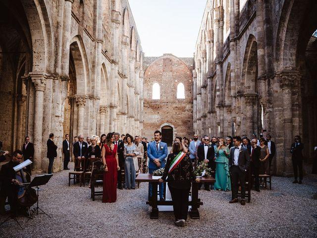 Il matrimonio di Davide e Mari a Casole d'Elsa, Siena 23