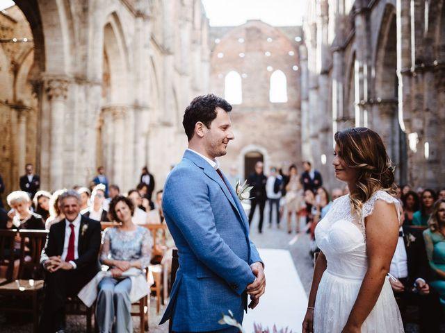 Il matrimonio di Davide e Mari a Casole d'Elsa, Siena 27