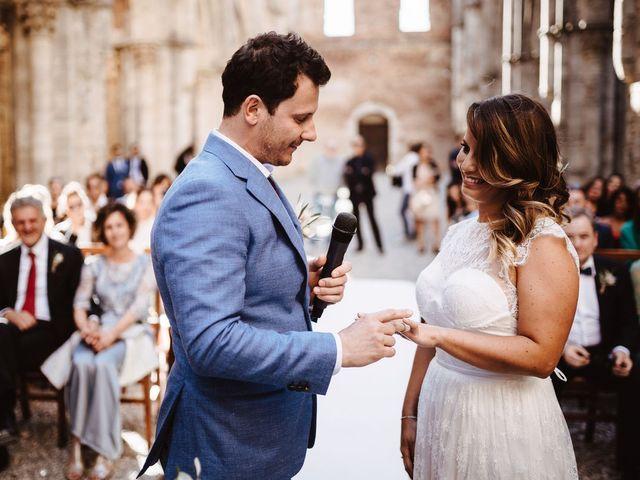 Il matrimonio di Davide e Mari a Casole d'Elsa, Siena 28