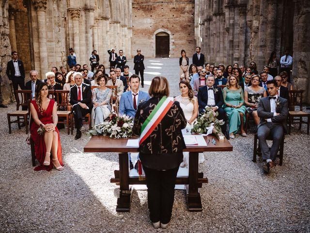 Il matrimonio di Davide e Mari a Casole d'Elsa, Siena 32