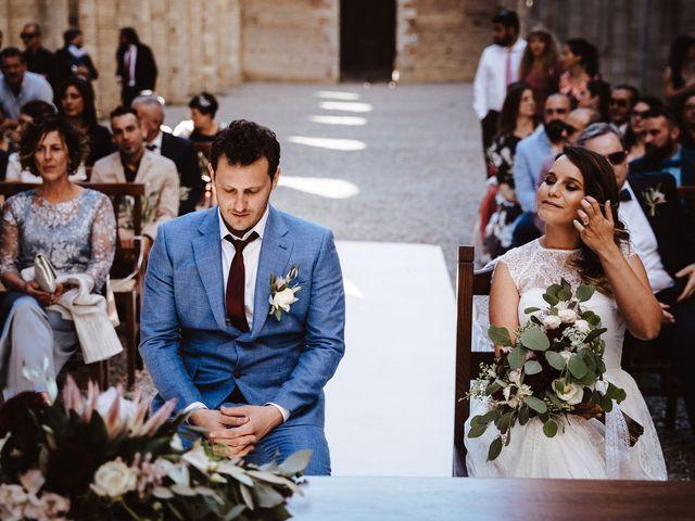 Il matrimonio di Davide e Mari a Casole d'Elsa, Siena 33