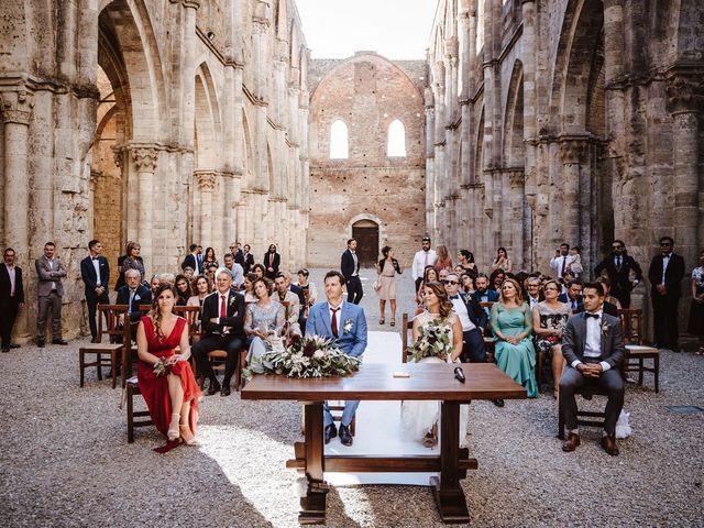 Il matrimonio di Davide e Mari a Casole d'Elsa, Siena 34