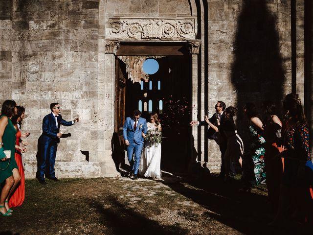 Il matrimonio di Davide e Mari a Casole d'Elsa, Siena 35