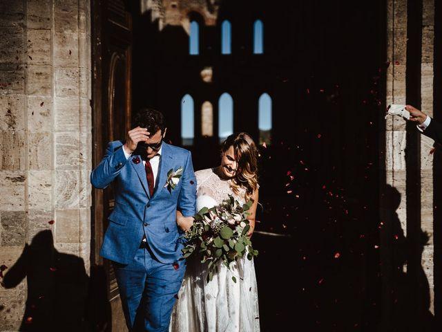 Il matrimonio di Davide e Mari a Casole d'Elsa, Siena 1