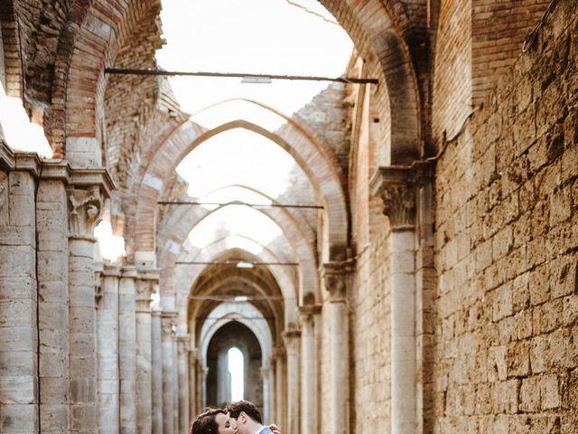 Il matrimonio di Davide e Mari a Casole d'Elsa, Siena 37