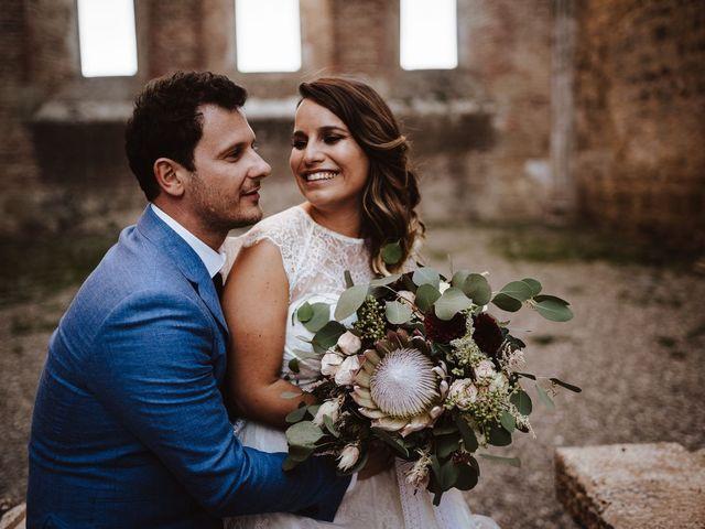 Il matrimonio di Davide e Mari a Casole d'Elsa, Siena 41