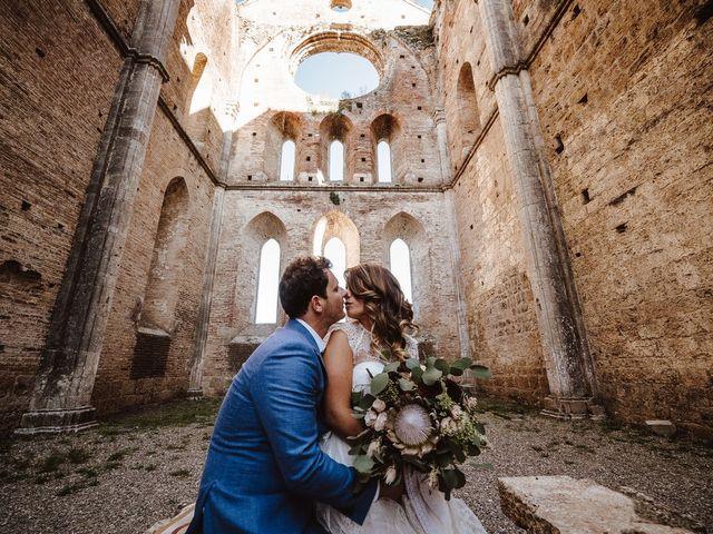 Il matrimonio di Davide e Mari a Casole d'Elsa, Siena 42