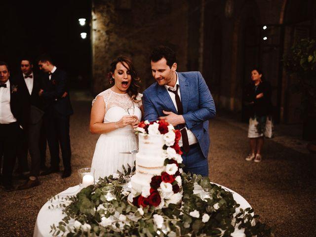 Il matrimonio di Davide e Mari a Casole d'Elsa, Siena 61