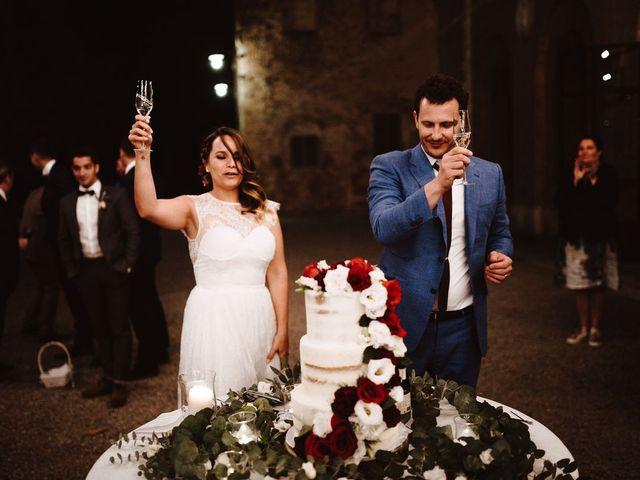Il matrimonio di Davide e Mari a Casole d'Elsa, Siena 62