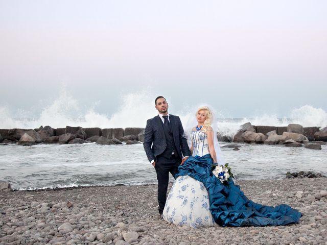 Il matrimonio di Mario e Enza a Fiumefreddo di Sicilia, Catania 52