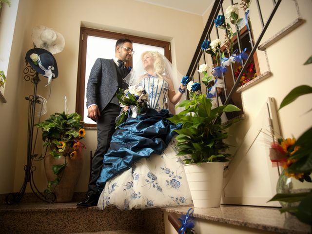 Il matrimonio di Mario e Enza a Fiumefreddo di Sicilia, Catania 35