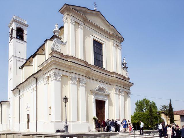 Il matrimonio di Victoria e Matteo a Dello, Brescia 17