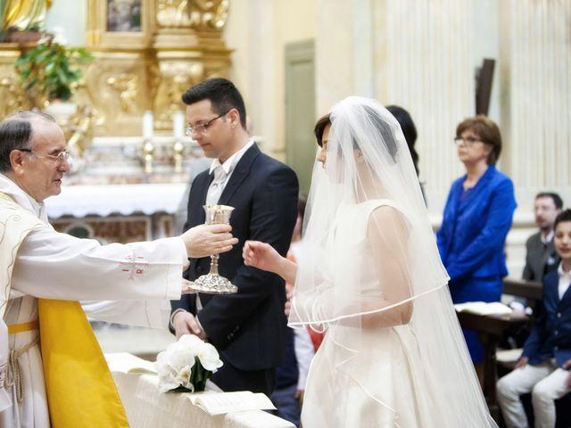 Il matrimonio di Victoria e Matteo a Dello, Brescia 42