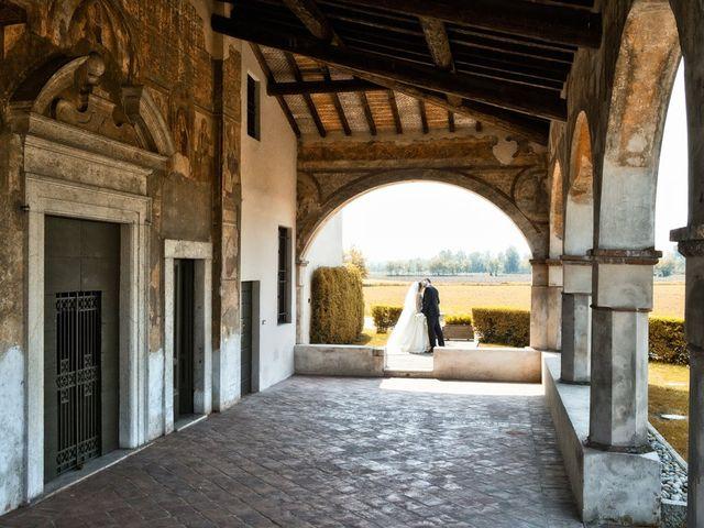 Il matrimonio di Victoria e Matteo a Dello, Brescia 48
