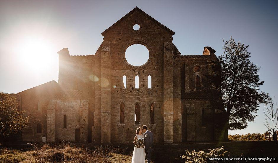Il matrimonio di Davide e Mari a Casole d'Elsa, Siena