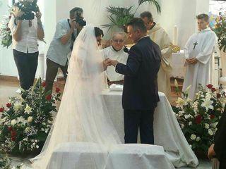 Le nozze di Monia e Tony 1