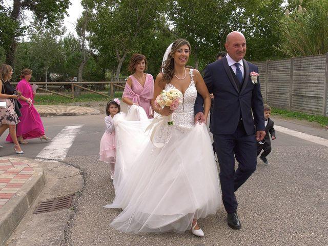 Il matrimonio di Alessandro e Valentina a Nurachi, Oristano 12