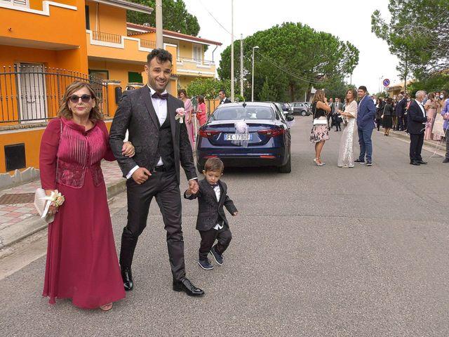 Il matrimonio di Alessandro e Valentina a Nurachi, Oristano 13