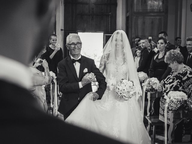 Il matrimonio di Marzia e Federico a Santa Marinella, Roma 15