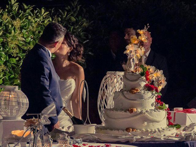 Le nozze di Monia e Tony