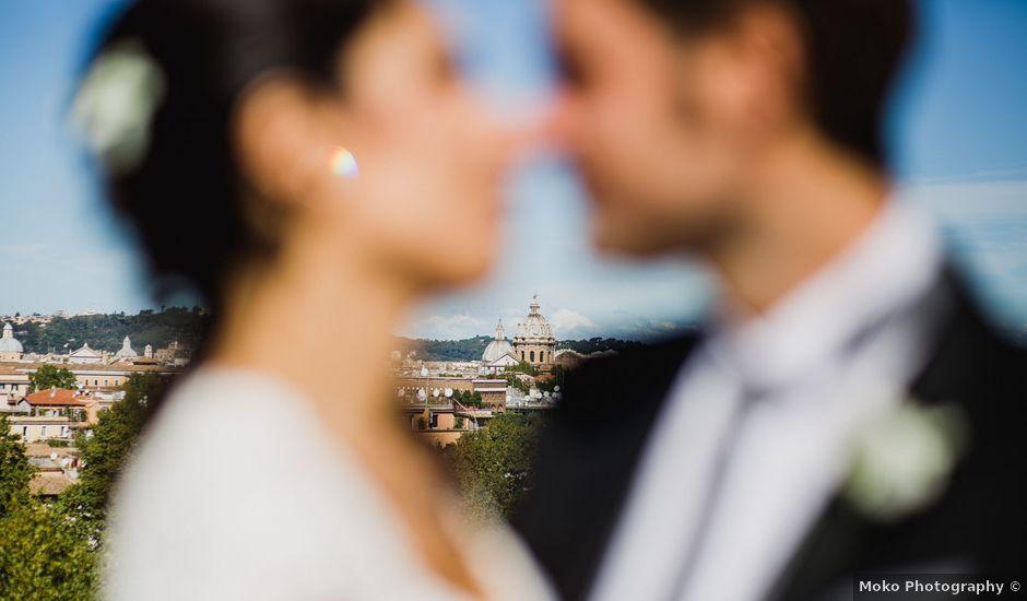 Il matrimonio di Simone e Federica a Roma, Roma