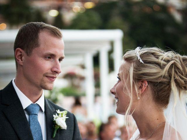 Il matrimonio di Robin e Ellinor a Taormina, Messina 13