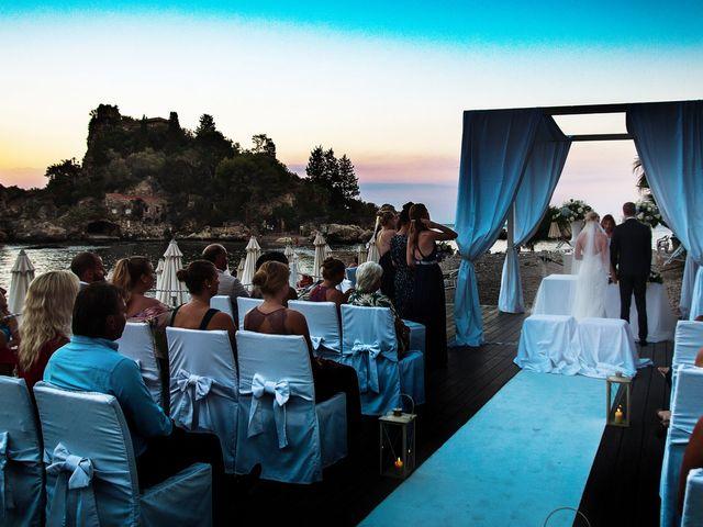 Il matrimonio di Robin e Ellinor a Taormina, Messina 25