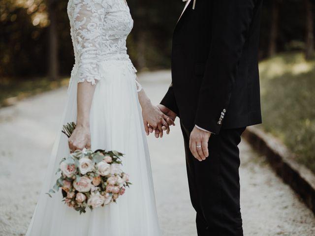Il matrimonio di Simone e Claudia a Viggiù, Varese 2