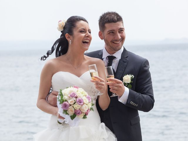 Il matrimonio di Giuseppe e Miriam a Bracciano, Roma 16