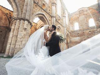 Le nozze di Nicole e Eric