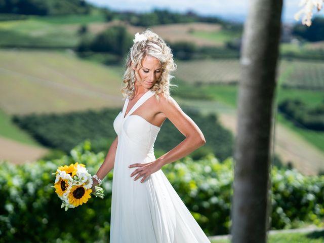 Il matrimonio di Mattia e Marta a Costigliole d'Asti, Asti 13