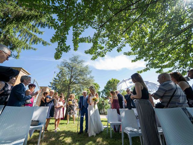 Il matrimonio di Mattia e Marta a Costigliole d'Asti, Asti 18