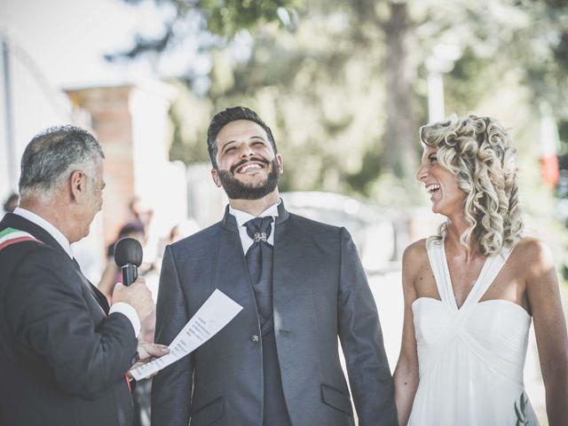 Il matrimonio di Mattia e Marta a Costigliole d'Asti, Asti 20