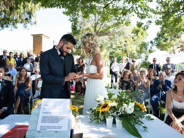 Il matrimonio di Mattia e Marta a Costigliole d'Asti, Asti 22