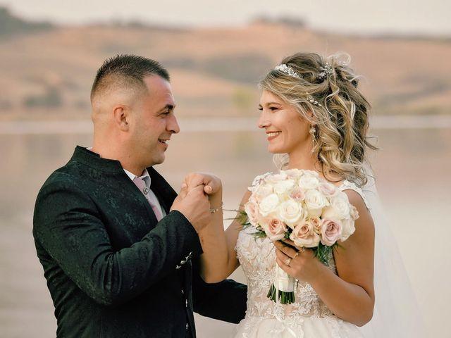 Il matrimonio di Iustin  e Liliana  a Montepulciano, Siena 20