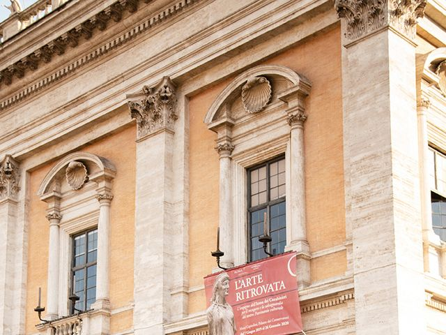 Il matrimonio di Lavinia e Marco a Roma, Roma 22