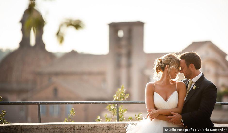 Il matrimonio di Lavinia e Marco a Roma, Roma